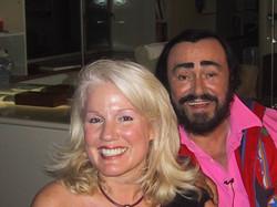 Daphne Barak Luciano Pavarotti
