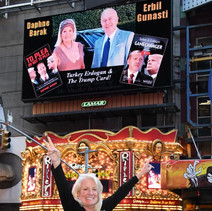 Daphne Barak Times Square Bilboard