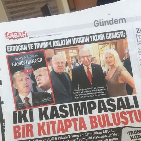 Erdogan ve Trump Kitapta Bulustu
