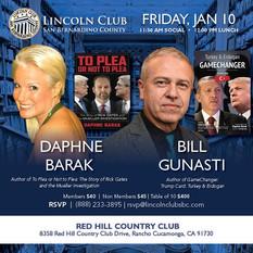 Lincoln Club Friday Jan 10 2020