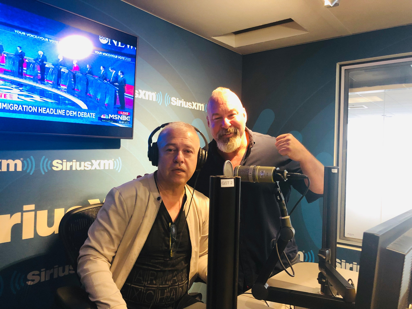 Erbil Gunasti on SiriusXM Patriot with Jonathan