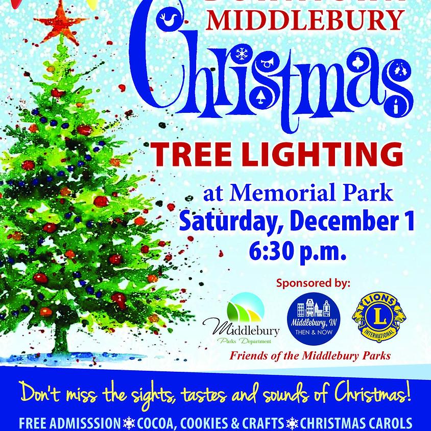 Downtown Tree Lighting at Memorial Park