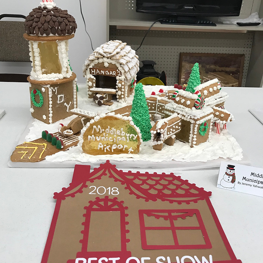 Gingerbread Competition and Display