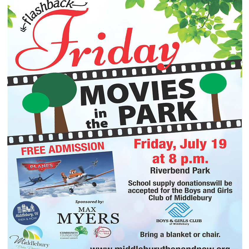 Flashback Friday Movies in the Park
