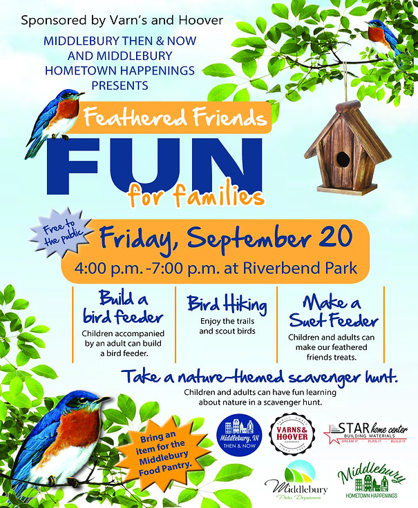 Feathered Friends Fun for familes_Flyer
