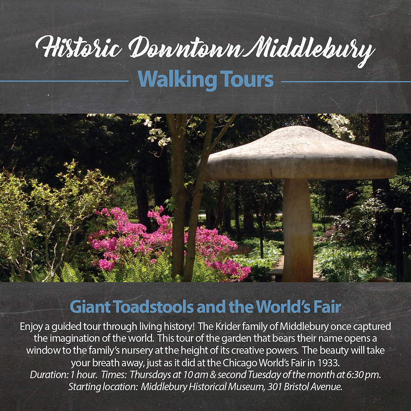 Giant Toadstools and the World's Fair (Guided Tour) (2)