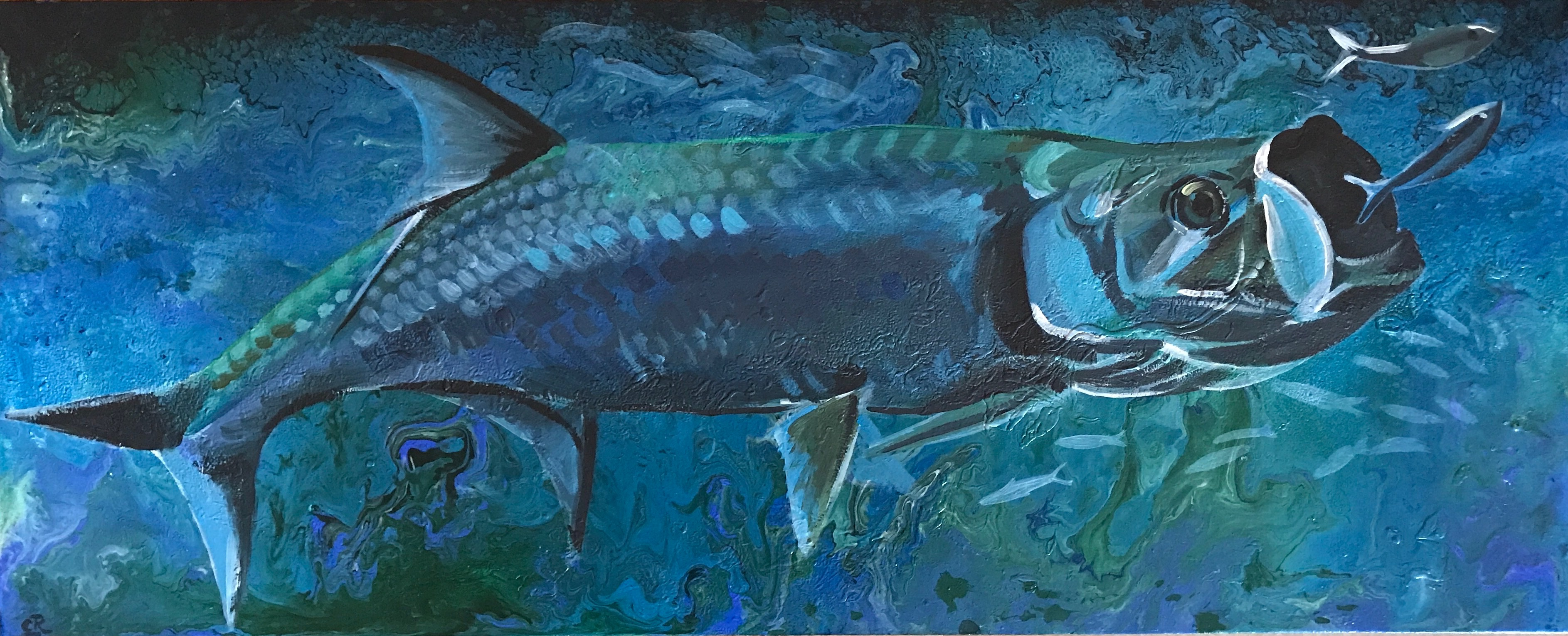 Tarpon on Wood