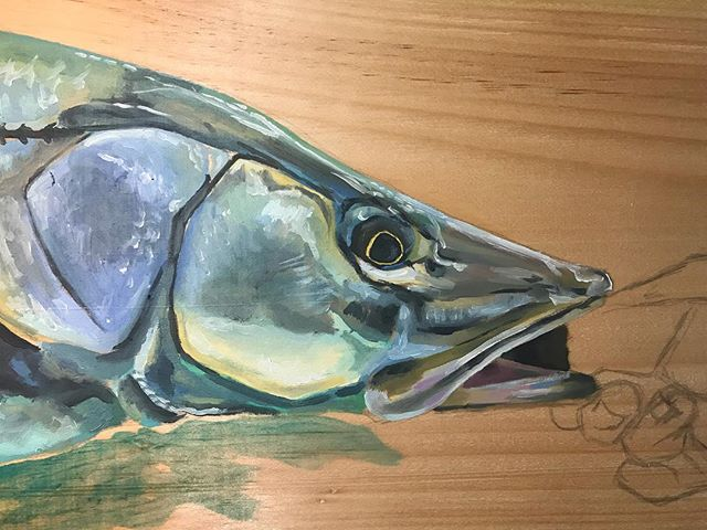 Snook on Wood
