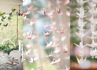 Origami: Decora tu boda con papel