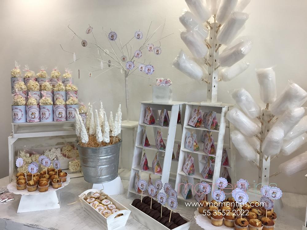 Mesa de dulces Sarah Kay