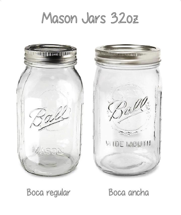 Mason Jar 32oz