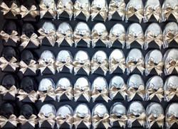 Flats negras y plata