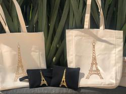 Cosmetiquera y bolsa Torre Eiffel