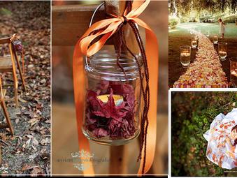 Ideas para una boda de otoño