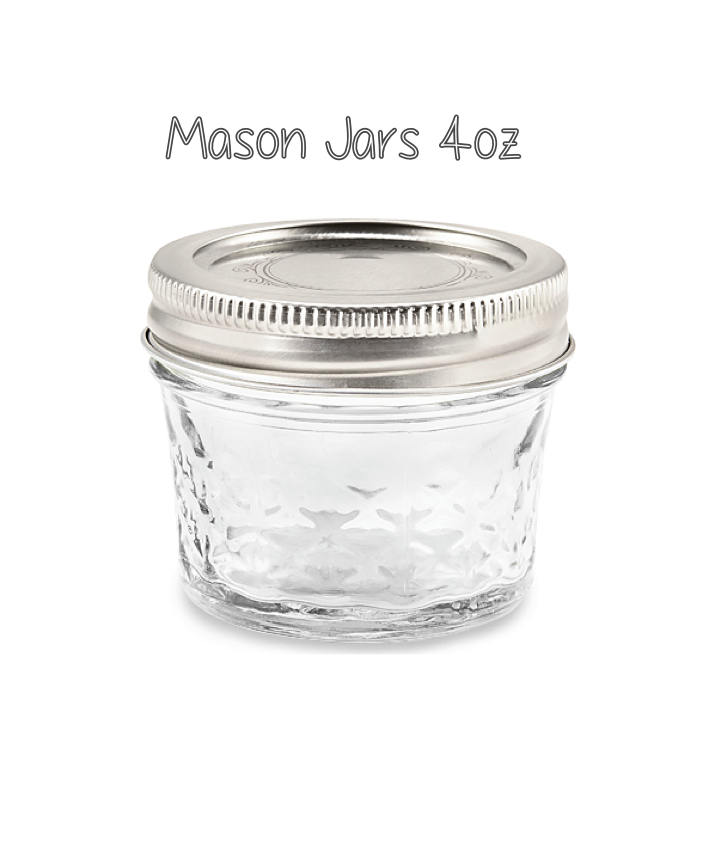 Mason Jar 4oz