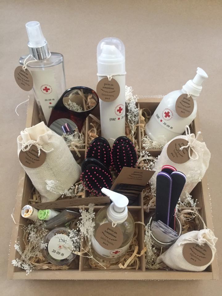Kit de belleza para baños