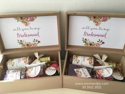 Cajas para bridesmaids 2