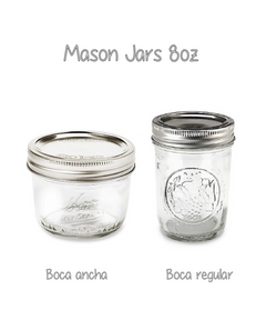 Mason Jar 8oz