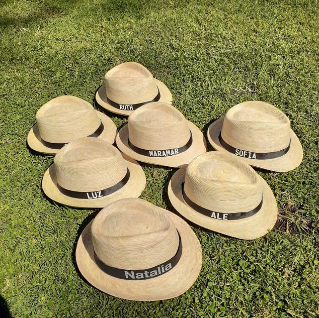 Sombreros tipo Panamá