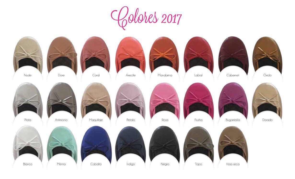 Carta de colores flats 2017