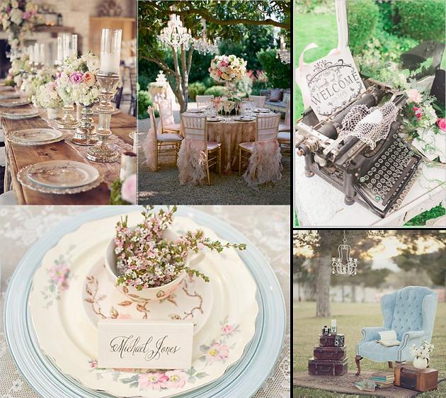 en una boda shabby chic tampoco pueden faltar las flores y sobre todo las florales recargadas grandes centros y adornos sper romnticos
