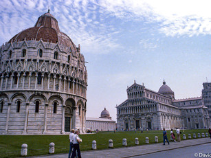 Baptistry, Cathedral & Leaning Tower Pisa