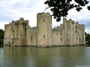Bodiam Castle. East Sussex