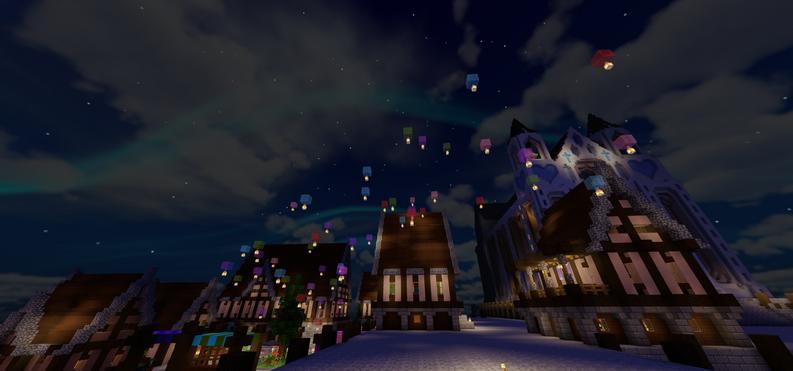 Lanterns at Candlelight Harbor