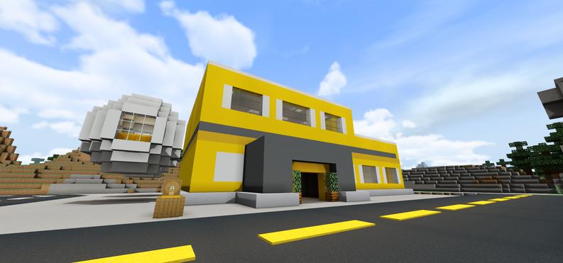 Honey Factory in Industrial District