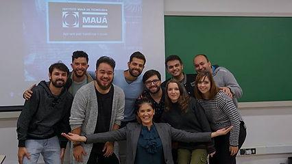 Instituto de Tecnologia Mauá - Meus alunos do curso de Pós Graduação em Master Design Business - Aula de Networking Business do Circuito Networking