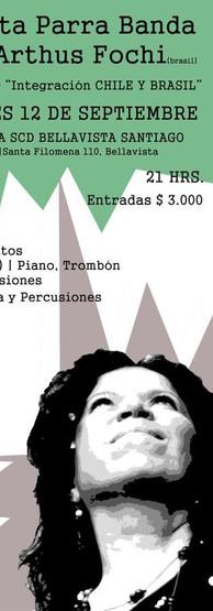 2014. Cartaz SCD Chile