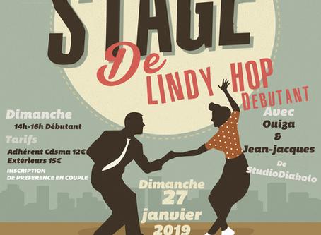 Stage de Lindy Débutant au CDSMA