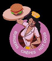 Logo food truck burger Avenue pin up.png