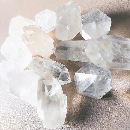 cristal de roche pointe brut