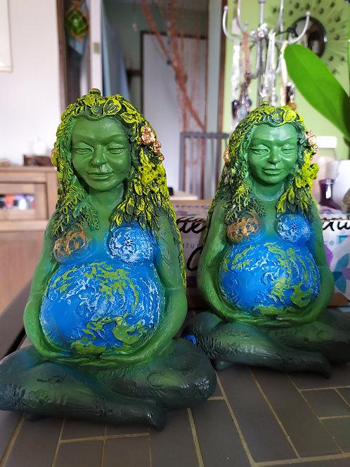 Statue Gaïa / déesse mère / déesse de la Terre