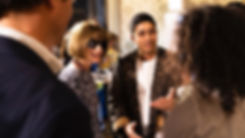 Anna Wintour at FAD & Vogue Talents Scounting for India