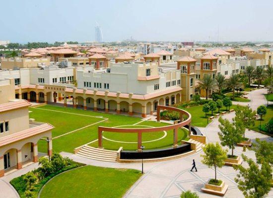 Aerial View of Dubai Knowledge Park