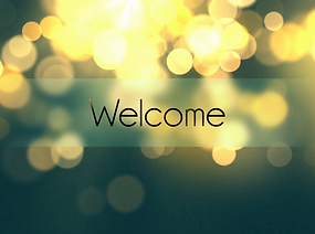 welcome-text-animation-over-bokeh-backgr
