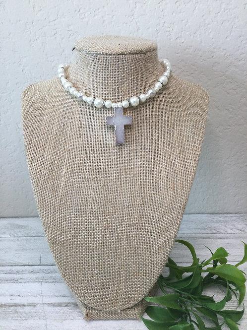White Stone Cross