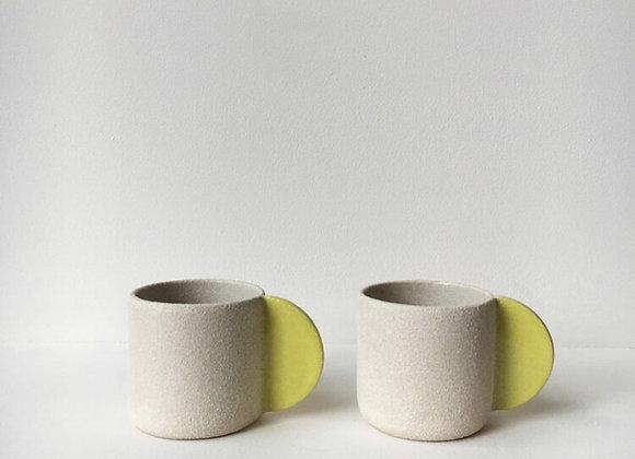 Bright Yellow Handle Mug