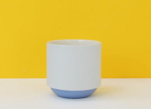 Grey & Blue Coffee Mug