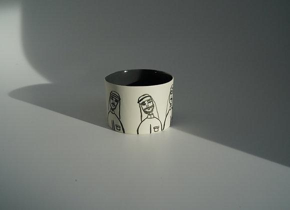 Qatari men version espresso mug