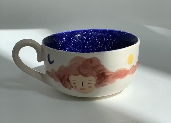 Space Mug + Saucer