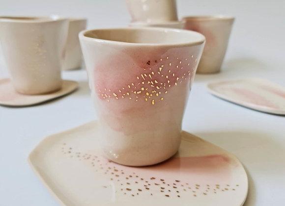 Constellations - Mug+Saucer (Pink)