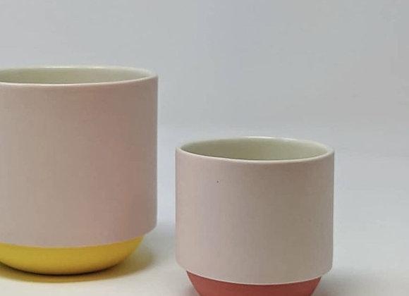 Pink & Red Espresso Coffee Mug