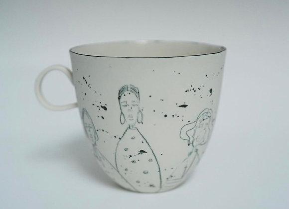 Speckled Girls Mug