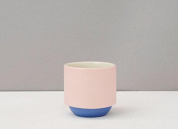 Pink & Blue Espresso Coffee Mug