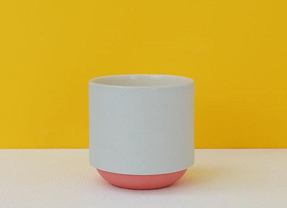 Grey & Red Coffee Mug