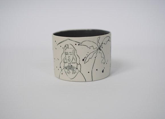 Traditional Girls version espresso mug