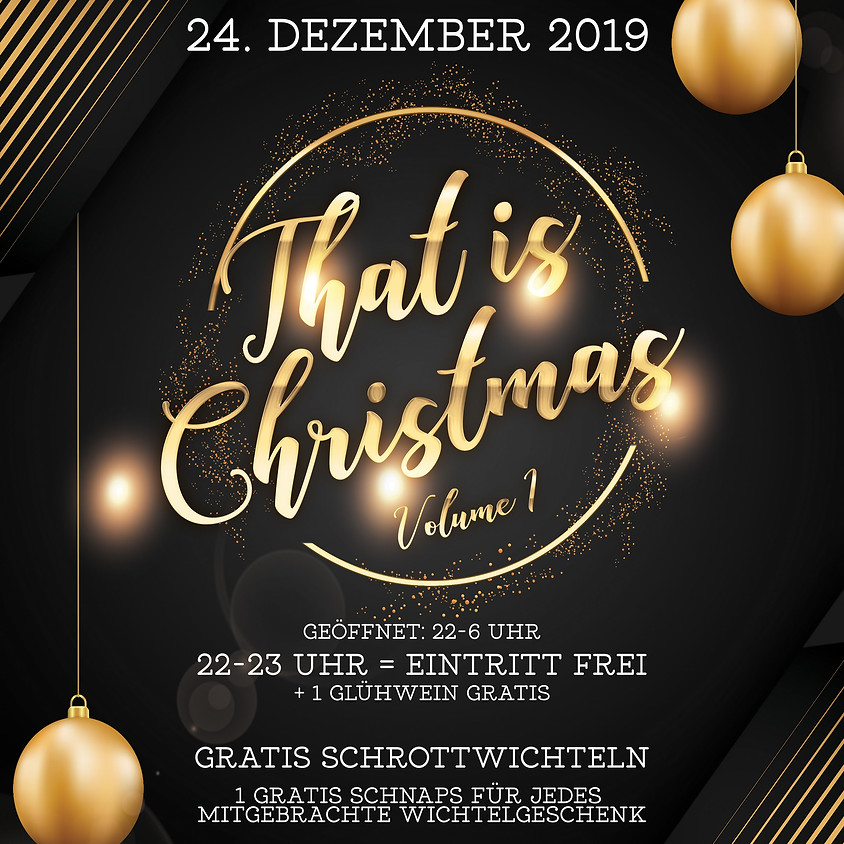 That is Christmas VOL. 1 | Heilig Abend